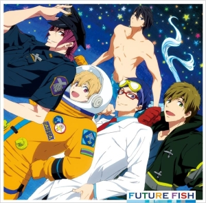 Free! Eternal Summer CD Future Fish & neo Blue Breathing